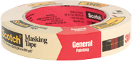 """3M 2050-1A 1"""" X 60YD PAINTERS MASKING TAPE S/W"""