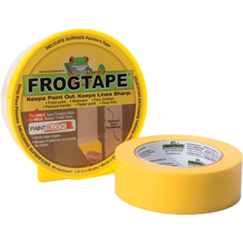 SHURTAPE 217143 36MM X 55M YELLOW FROG DELICATE MULTI-USE PAINTER'S TAPE