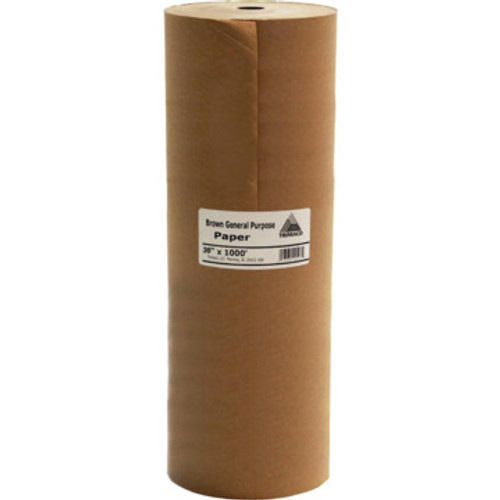 "Tri Paper 12906 B6 6"" x 60Yd General Purpose Masking Paper"