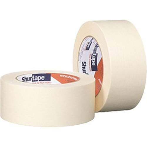 "Shurtape 169655 CP105 1.5"" x 60Yd General Purpose Masking Tape Bulk"