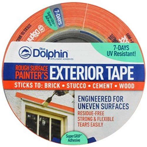 """Blue Dolphin TP EXT R 0200 1.88"""" x 54.6Yd Rough Exterior Tape"""