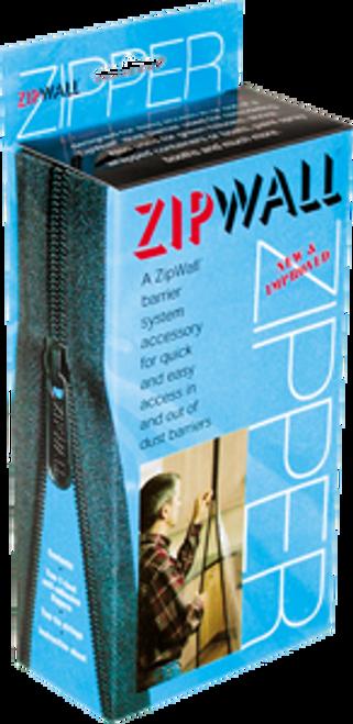"ZIPWALL AZ2 2PK ADHESIVE 84"" ZIPPERS"