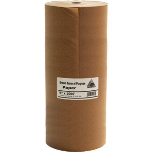 "TRI PAPER 12102 BL18 18"" X 1000' BROWN GENERAL PURPOSE MASKING PAPER"