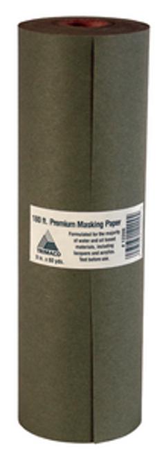 "TRI PAPER 12206 G6 6"" X 60 YD GREEN PREMIUM MASKING PAPER"