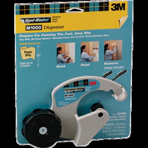 3M M1000 HAND-MASKER TAPE DISPENSER - 4ct. Case