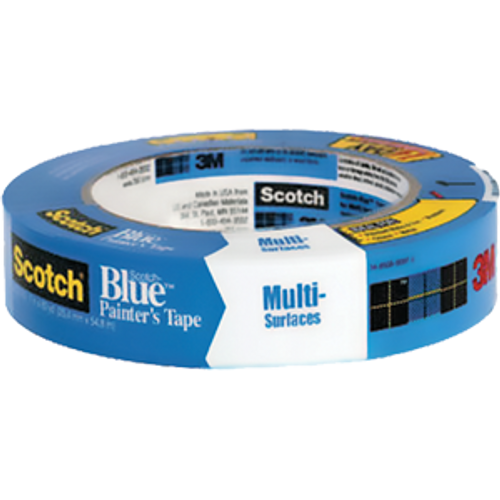 "3M 2093EL-1.5E 1.5"" X 60YD SCOTCH BLUE ADVANCED EDGE LOCK MULTI-SURFACE PAINTER'S TAPE"
