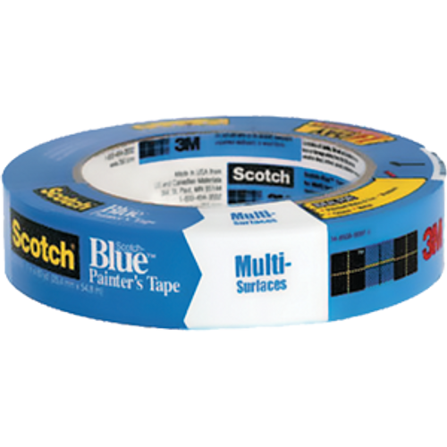 "3M 2093EL-1-CT 1"" X 60YD SCOTCH BLUE ADVANCED EDGE LOCK MULTI-SURFACE PAINTER'S TAPE"