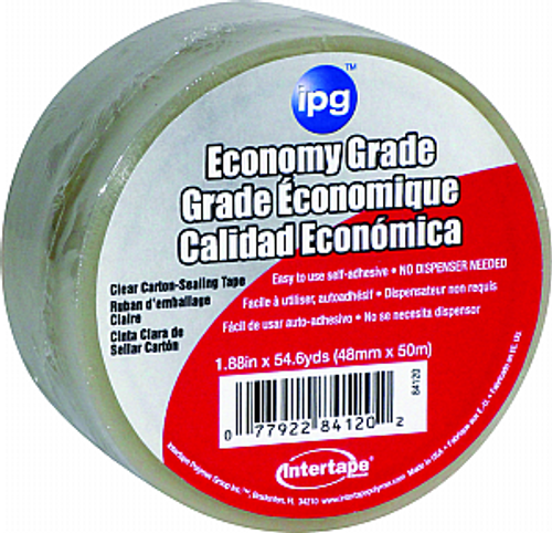 "IPG 610C 2"" X 55YD PVC CLEAR TAPE"