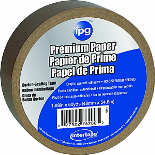 "IPG 9341 2"" X 60YD PAPER PACKAGE SEALING TAPE (89276)"