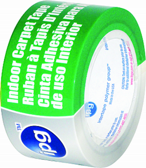 """IPG 9971 2"""" X 10YD DOUBLE SIDED CARPET TAPE"""