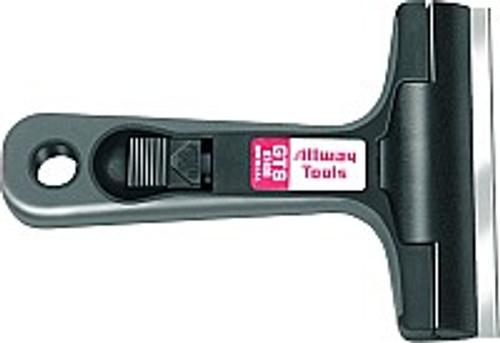 "Allway GTS 4"" Glass & Tile Scraper Soft Grip"