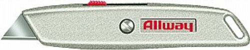 Allway RK4 HD Retractable Utility Knife w/ 3 Blades