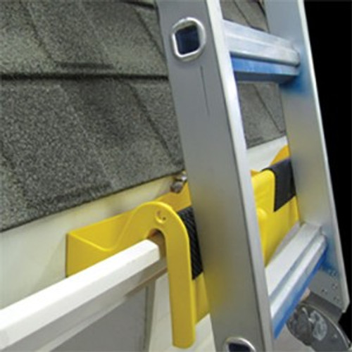 Roofers World RT-LM Ladder Mount - Ladder Stabilizer That Fits Inside Gutters