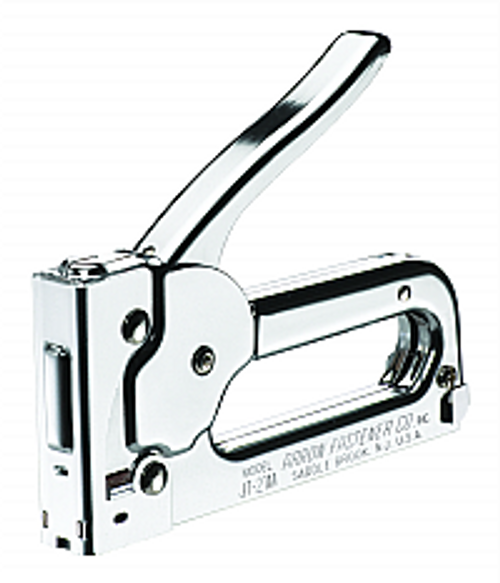 ARROW FASTENER JT21CM ALL CHROME JUNIOR STAPLE GUN TACKER