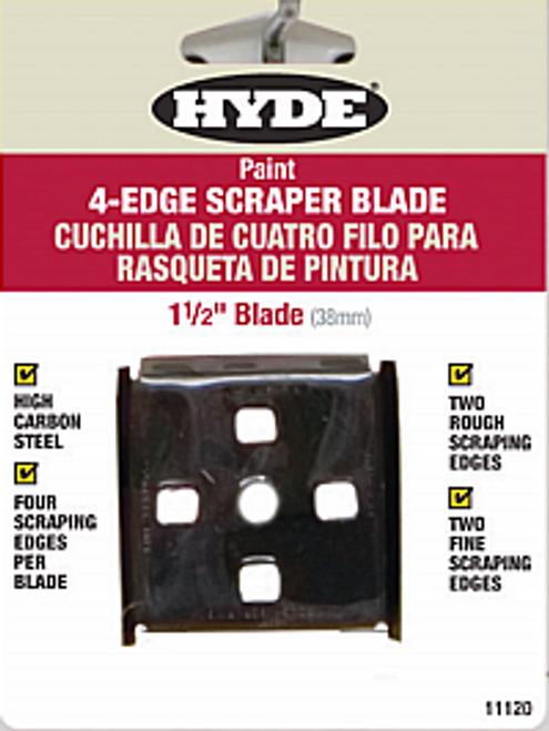 "HYDE 11120 1-1/2"" 4-EDGE SCRAPER REPLACEMENT BLADE FOR 10260 & 10530"