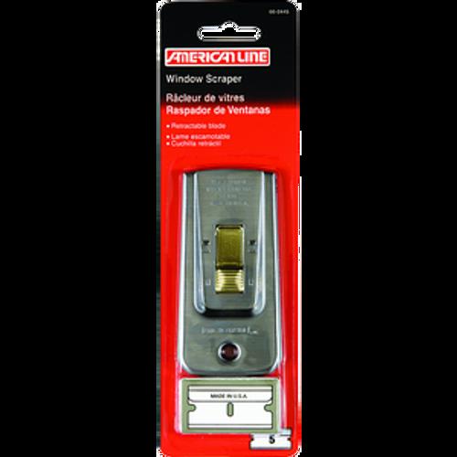 ASR 66-0445 DELUXE HD WINDOW SCRAPER WITH 5 BLADES