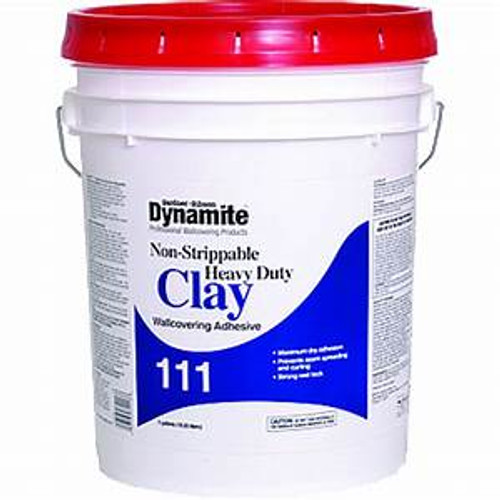 Gardner Gibson 7111-3-30 5G Dynamite 111 HD Clay Nonstrippable Wallcovering Adhesive