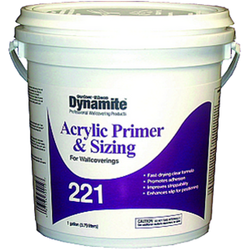 GARDNER GIBSON 7221-3-20 1G DYNAMITE 221 ACRYLIC PRIMER AND SIZING
