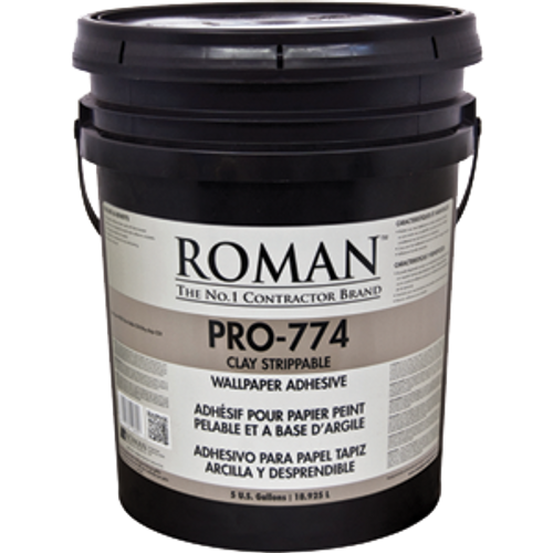 ROMAN PRO-774 5G PRO 774 CLAY BASED STRIPPABLE ADHESIVE