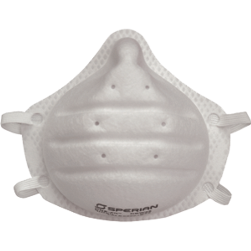 SPERIAN PROTECTION 14110444 N95 ONE FIT DISPOSABLE PARTIULATE RESPIRATOR 20PK
