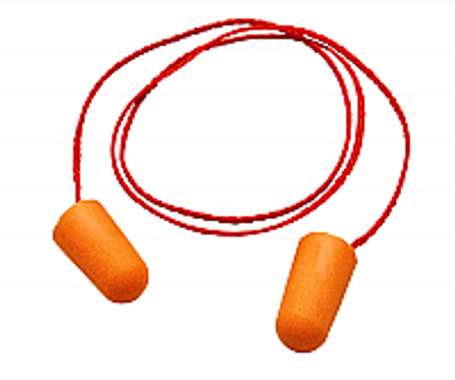 3M 29009 1110 CORDED EAR PLUGS ONE PAIR PER BAG PK 1/100