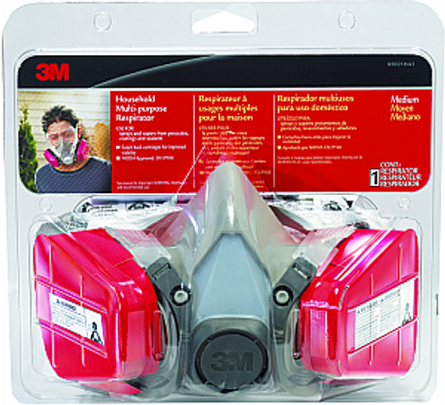 3M 65021HA1-A HOUSEHOLD MULTI-PURPOSE RESPIRATOR