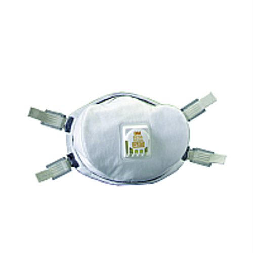 3M 8233 N100 PARTICULATE RESPIRATOR WITH VALVE,FACESEAL AND ADJUSTABLE STRAPS (PK 1/20)