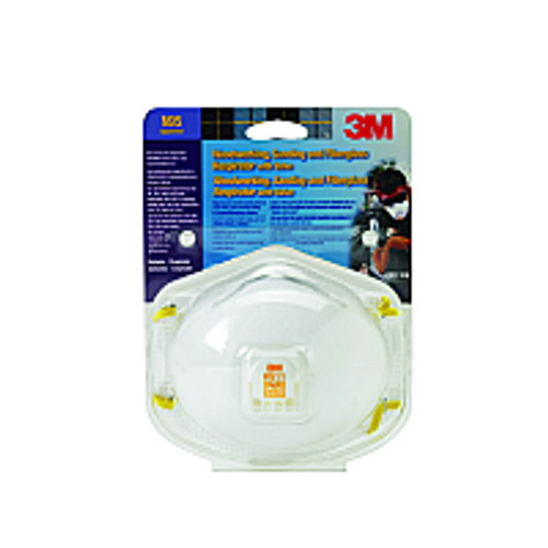 3M 8511PA1-A N95 PARTICULATE RESPIRATOR WITH VALVE CARDED
