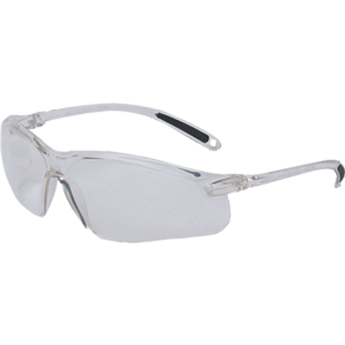 SPERIAN HONEYWELL RWS-51033 A700 CLEAR FRAME CLEAR LENS WRAP AROUND SAFETY GLASSES