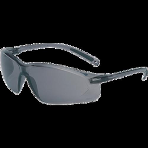 SPERIAN HONEYWELL RWS-51034 A700 GRAY FRAME GRAY LENS WRAP AROUND SAFETY GLASSES