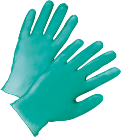 WEST CHESTER 00118 MED GREEN 5.5 MIL VINYL GLOVES IN BUCKET PK 1/300