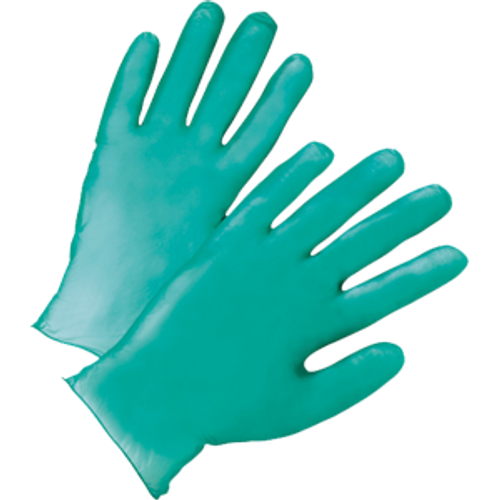 WEST CHESTER 00118 XLRG GREEN 5.5 MIL VINYL GLOVES IN BUCKET PK 1/300