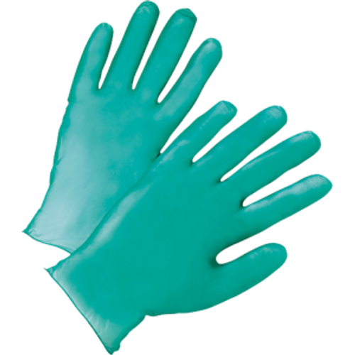 WEST CHESTER 00118/L LARGE GREEN 5.5MIL VINYL GLOVES IN BUCKET PK 1/300