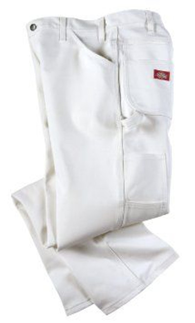DICKIES 1953WH 32W X 34L WHITE PAINTERS PANTS