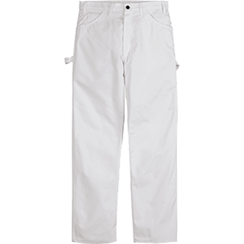 DICKIES 1953WH 34W X 32L WHITE PAINTERS PANTS