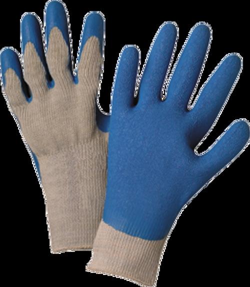 WEST CHESTER 30500 LRG BLUE/GRAY SEAMLESS KNIT GLOVE