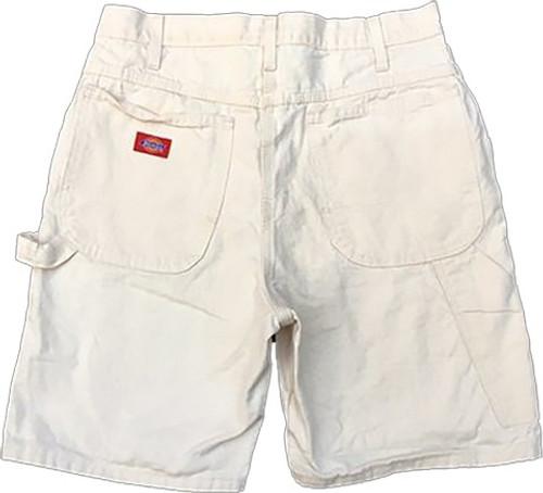 "Dickies DX401WH 34"" Mens White Painters Carpenter Short 11"" Inseam"
