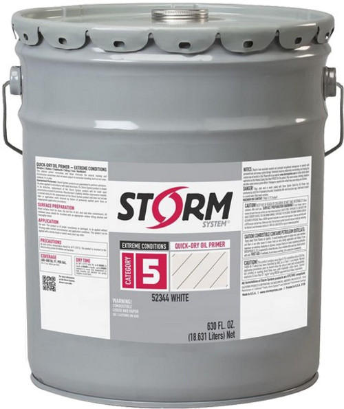 Storm 52344-1 1G Cat5 Extreme Conditions Quick-Dry Oil Primer White