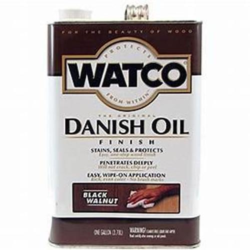 Watco 65341 Qt Black Walnut Danish Oil - 6ct. Case