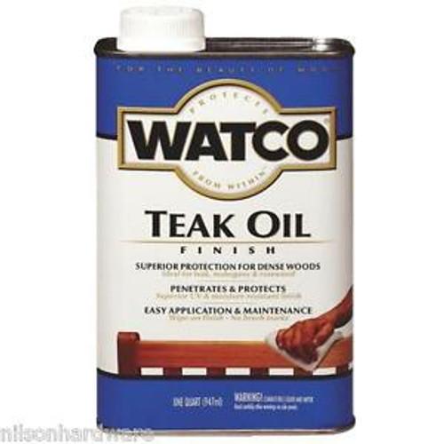 Watco 242226H Qt Teak Oil Finish 275 VOC