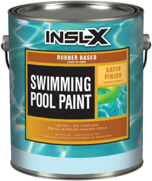 Insl-X RP-2710 1G White Pool Paint Rubber Based 340 VOC