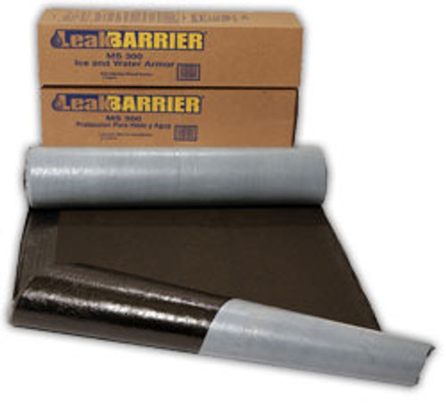 ROOFING UNDERLAYMENT, MS300,1 SQ 36RL/ PA,ICE AND WATER SHIELD, SBS MODIFIED BIT