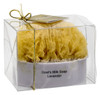 Grecian Soap Company Goats Milk and Olive Oil Soap with embedded Natural Sea Sponge