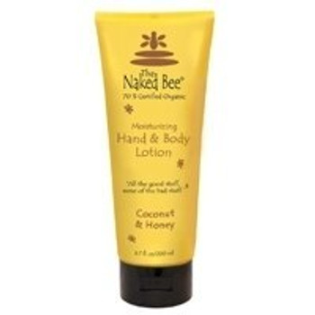 Naked Bee Coconut and Honey Hand and Body Lotion - 6.7 oz tube