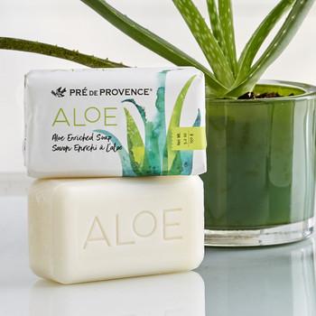 Pre de Provence Aloe Enriched Soap - 150 gm