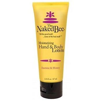 Naked Bee Jasmine and Honey Hand and Body Lotion - 2.25 oz tube