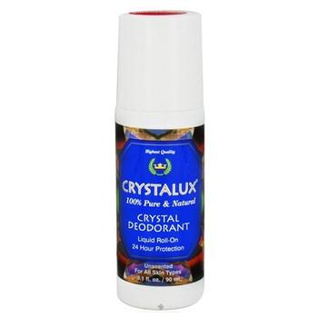 Crystalux Liquid Roll-On Deodorant - 3.1 oz