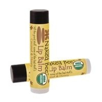 Naked Bee Coconut and Honey USDA Organic Lip Balm - .15 oz