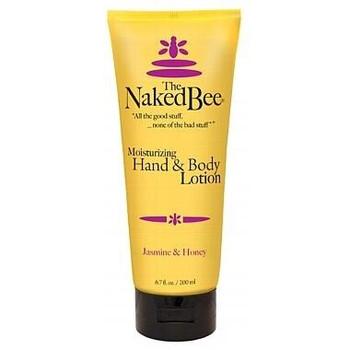 Naked Bee Jasmine and Honey Hand and Body Lotion - 6.7 oz tube