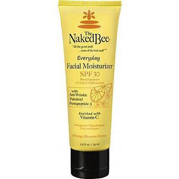 Naked Bee Orange Blossom Honey Everyday Facial Moisturizer SPF 30 - 2.5 oz tube